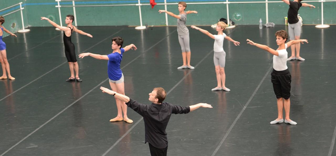 Les estivales du malandain ballet biarritz for Barre de danse occasion